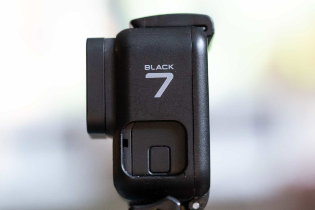 GoPro Hero 7 Black Edition Side Profile